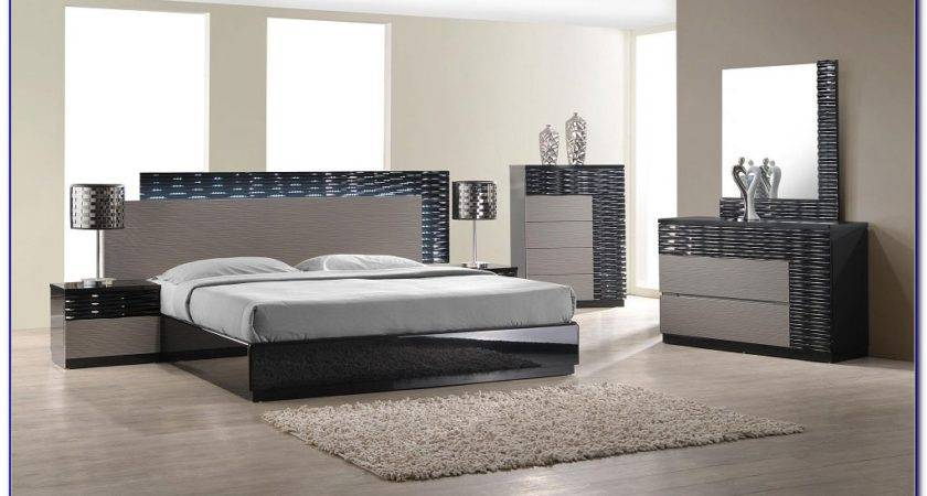 Black White Contemporary Bedroom Furniture