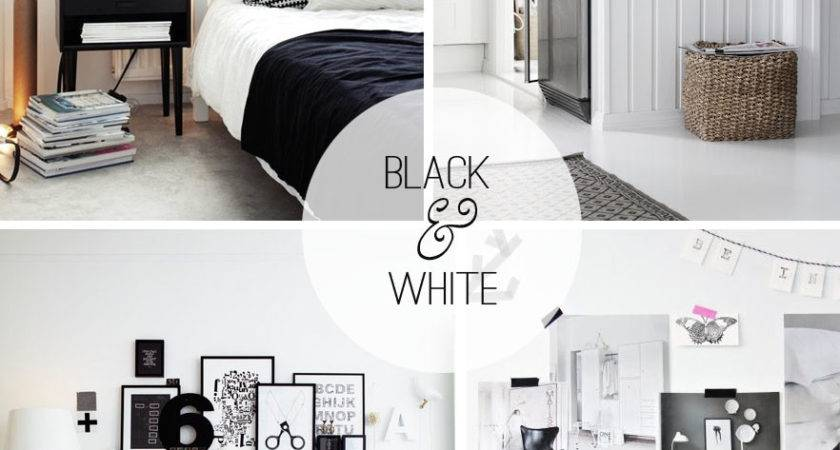 Black White Decor Casual Cottage