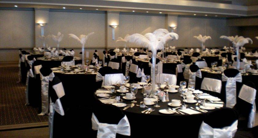 Black White Decor Ideas Wedding Archives