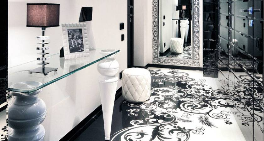 Black White Graphic Decor