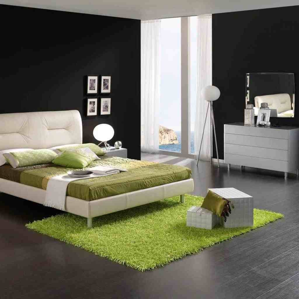 Smart Placement Green Black White Bedroom Ideas Homes Decor