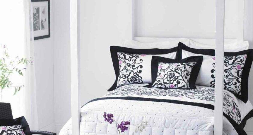 Black White Grey Bedroom Grasscloth