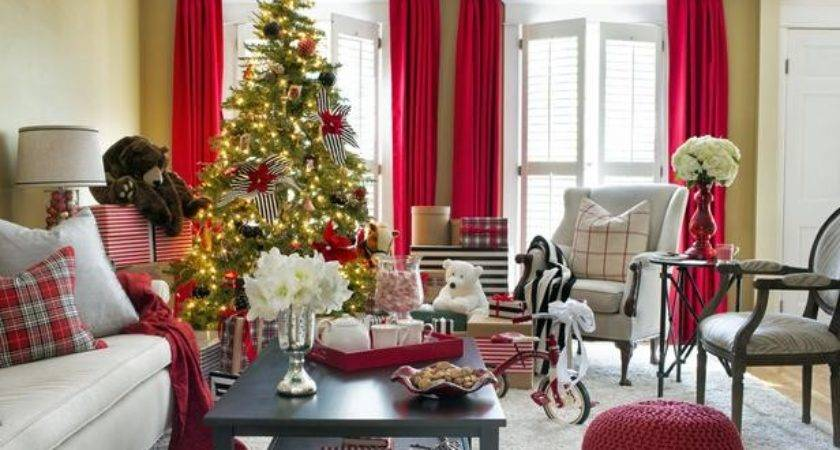 Black White Holiday Decor Interior Design Styles