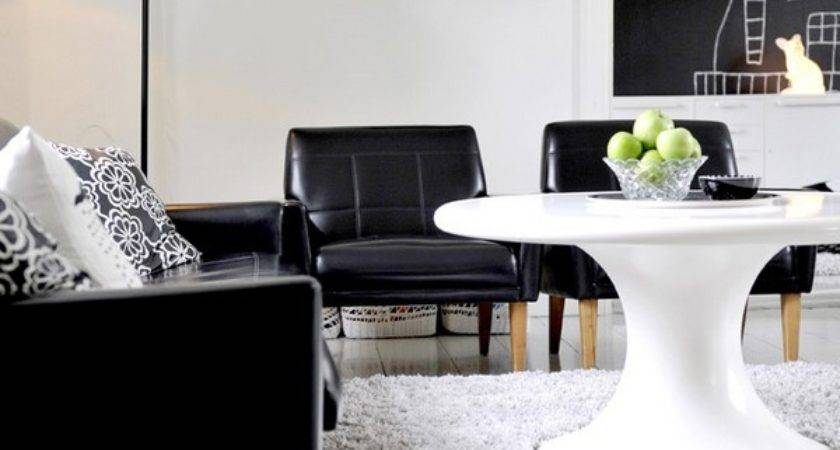 Black White Inspiration Contemporary Decors Opening
