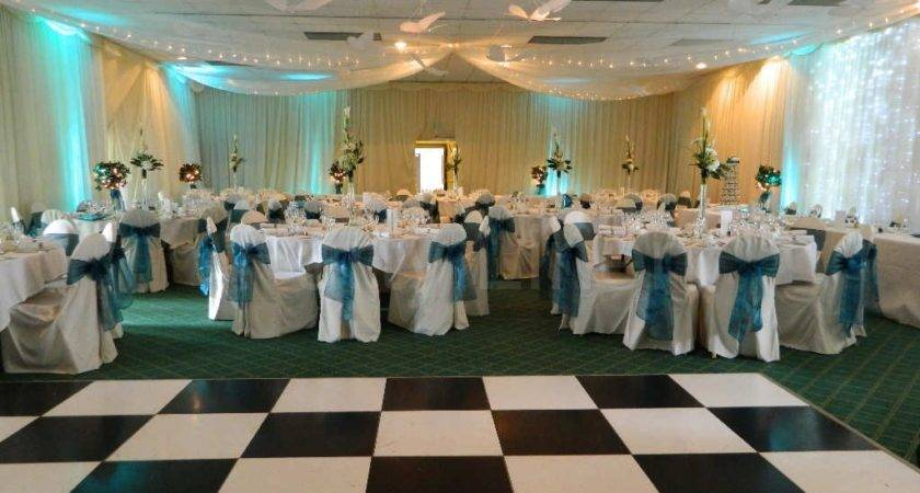 Black White Led Dance Floors Party Linen
