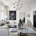 Black White Living Room Ideas