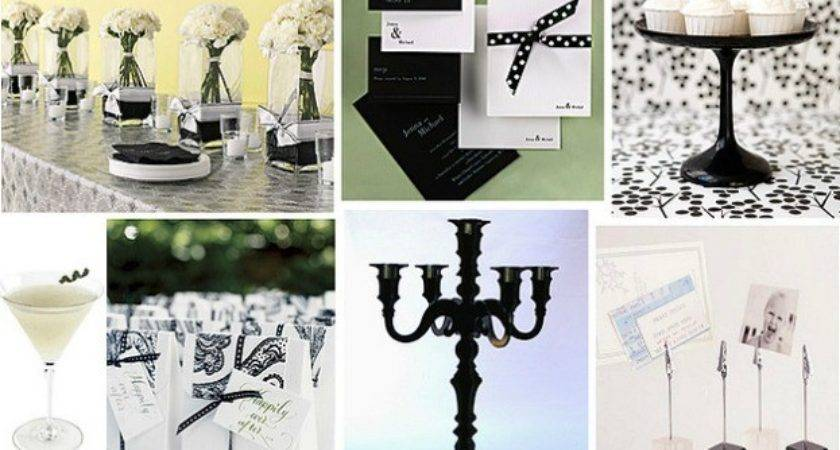 Black White Party Decorations Ideas Myideasbedroom
