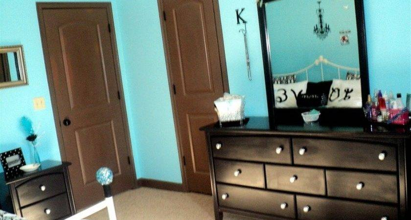 Black White Tiffany Blue Bedroom Painted Her