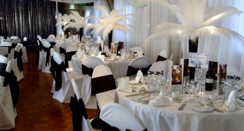 Black White Wedding Decorations Sale Archives