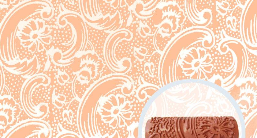 Bloom Tide Patterned Paint Roller
