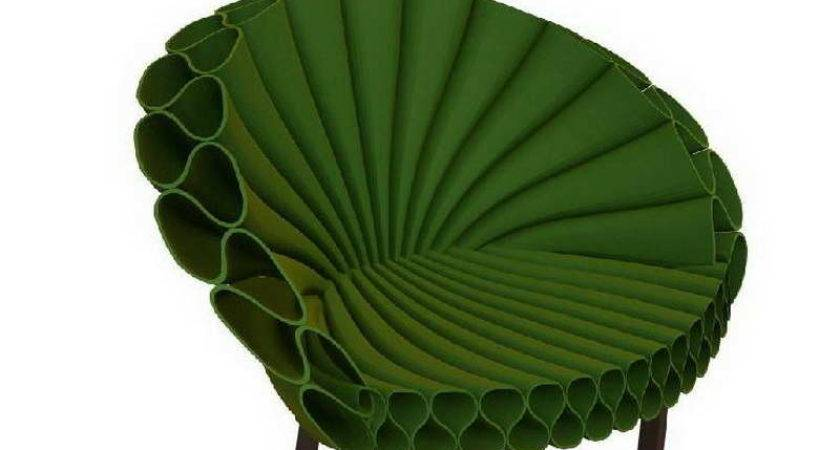 Bloombety Cappellini Peacock Chair Design Green