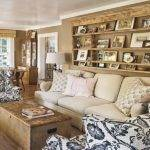 Bloombety Cottage Style Living Room Sofa Design