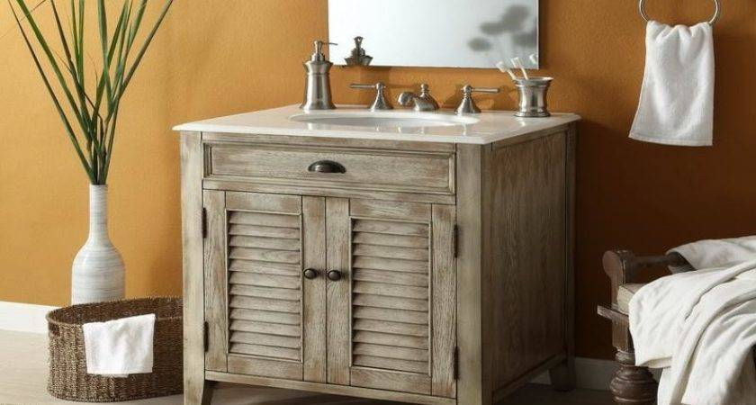 Bloombety Perfect Cottage Style Bathroom Vanity