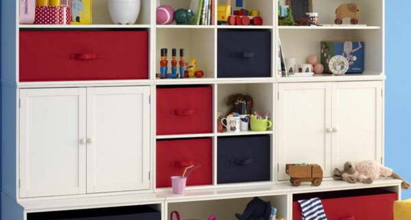 Bloombety Storage Ideas Kids Rooms Blue Sea Wall