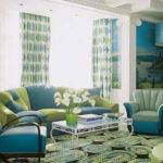 Bloombety Turquoise Green Living Room Ideas