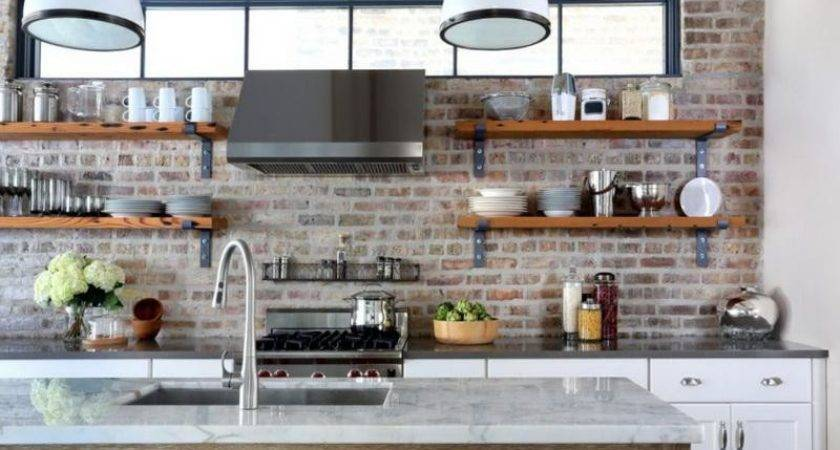Bloombety Unique Open Shelving Kitchen
