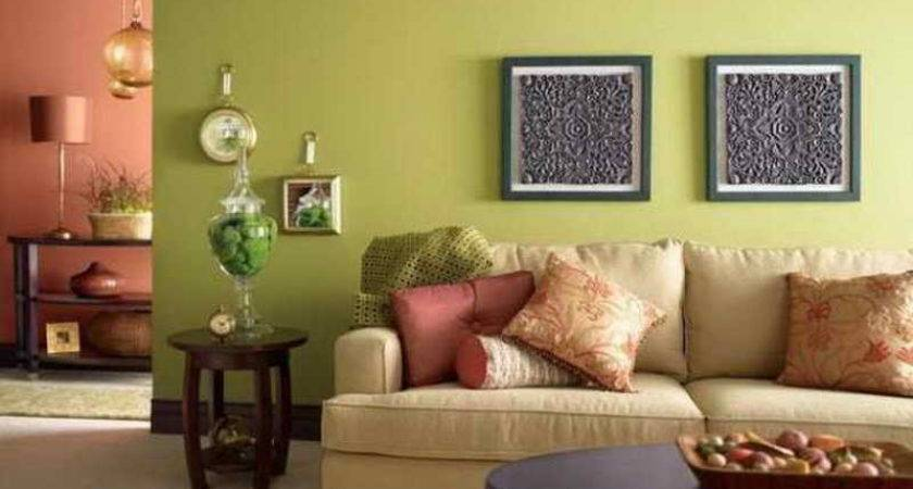 Bloombety Warm Colors Living Rooms Green