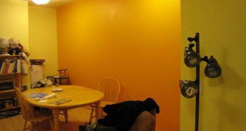 Bloombety Yellow Orange Wall Paint Colors Awesome