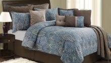 Blue Brown Bed Sets