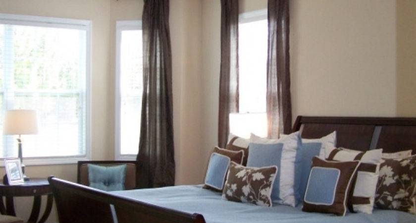 Blue Brown Bedroom Decorating Ideas Decoratingspecial