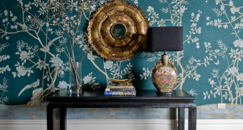 Blue Chinoiserie Design Ideas