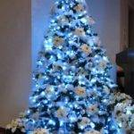 Blue Christmas Tree Best Template Idea