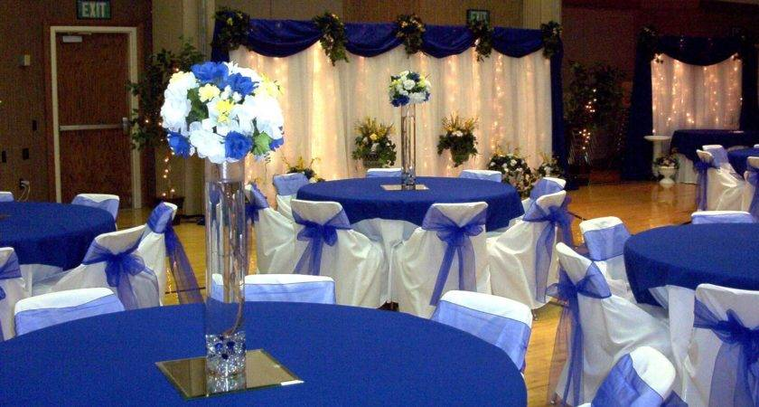 Blue Gray Decorating Ideas Red Gold Wedding