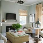 Blue Gray Living Room Contemporary