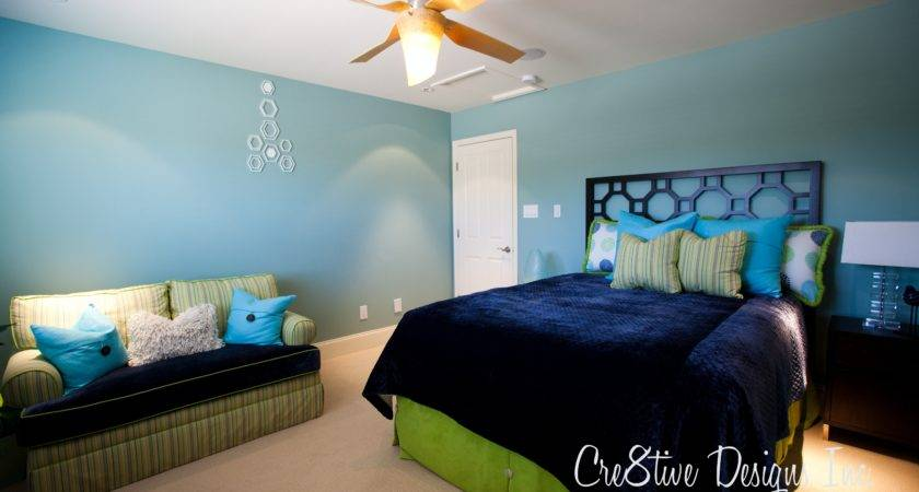 Blue Green Bedroom Decorating Ideas Home Design Interior
