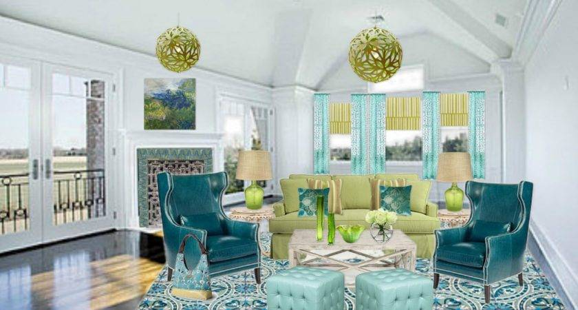 Dream Blue Green Yellow Living Room 22 Photo Homes Decor,Teenager Easy Simple Mehndi Designs For Kids Front Hand