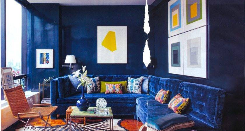 Blue Living Room Walls Brown Furniture Youtube