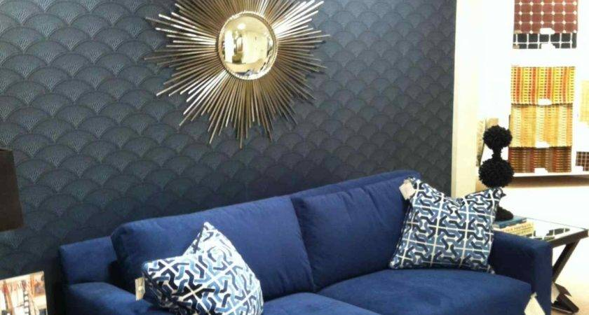 Blue Sofa Decorating Ideas Xrmbinfo
