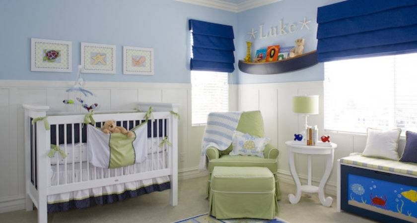 Blue White Baby Room Decor Boys Felmiatika