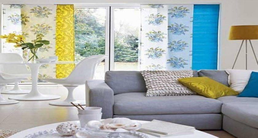 Blue White Living Room Decorating Ideas Yellow