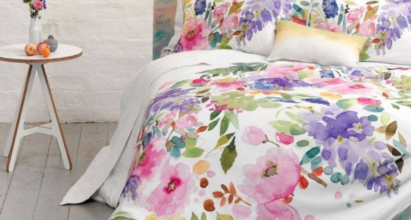 Bluebellgray Wisteria Duvet Cover Set Mckenzie Willis