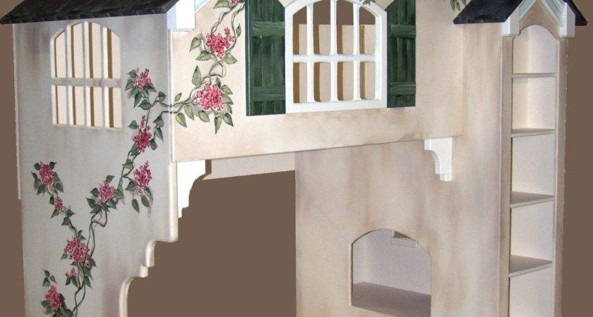Blueprints Dollhouse Bunk Bed Twin Over
