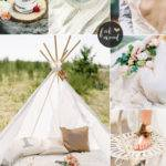 Bohemian Beach Wedding Boho Colour Palette
