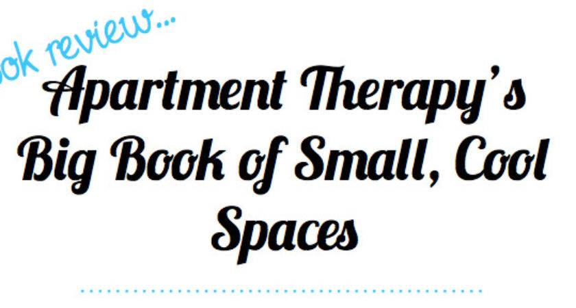 Book Review Apartment Therapy Big Small Cool
