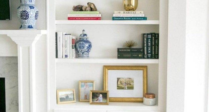 Bookcases Around Fireplace