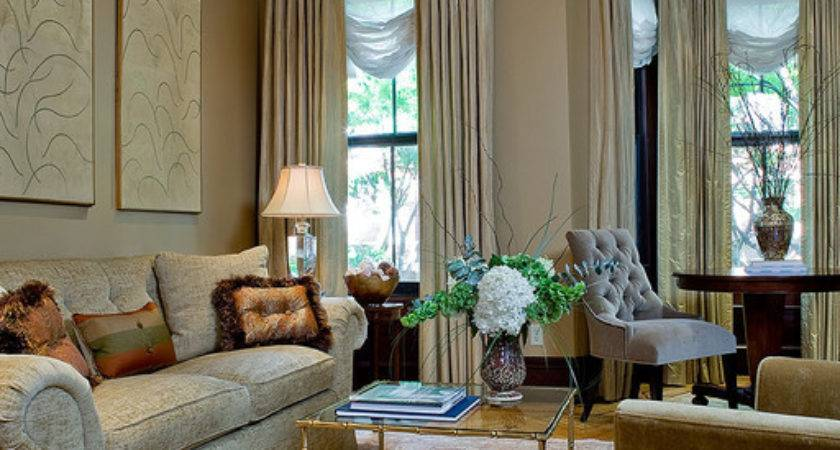 Boston Townhouse Living Room Traditional