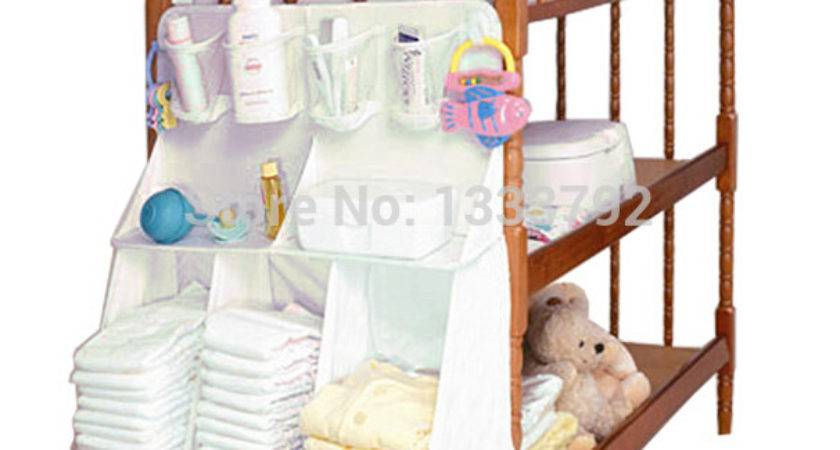 Brand Diapers Organizer Baby Bed Hanging Bag Portable