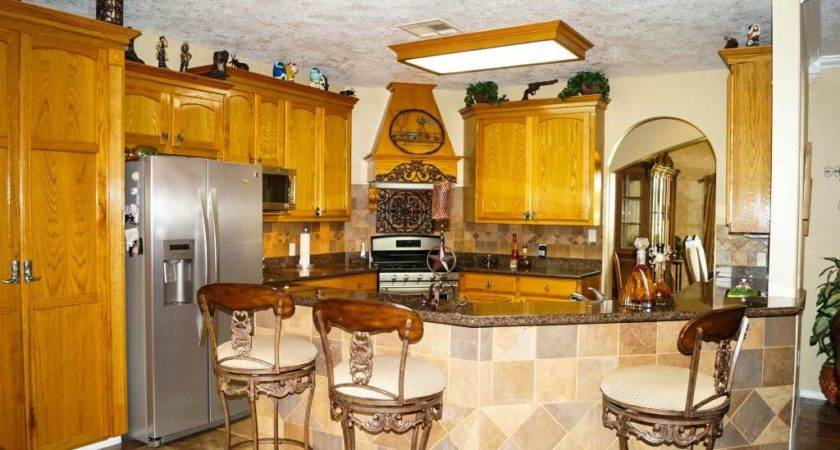 Breakfast Bar Tiled Wall Kitchen Island Ideas