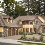 Brick House Facades European Stone Cottage Plans