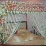 Bridal Wedding Bedroom Decoration Ideas Flower