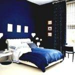 Bright Blue Master Bedroom Interior Design