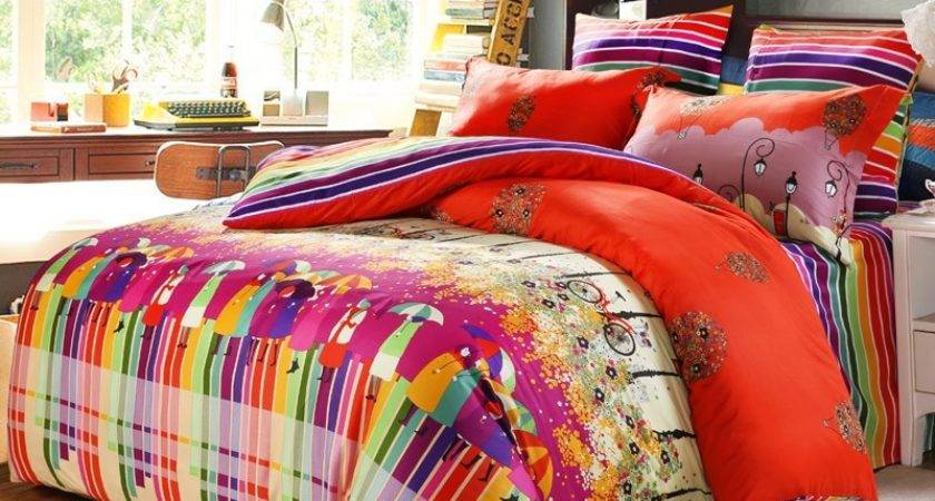 Bright Colorful Bedding Sets Goenoeng