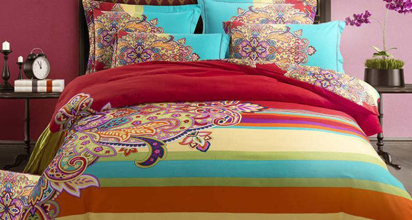 Bright Colorful Bedding Sets