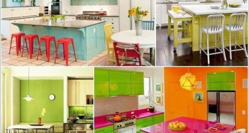 Bright Colorful Kitchen Designs Simply Fabulous