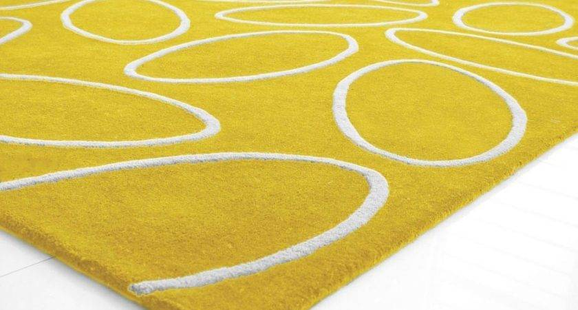Bright Yellow Area Rug Best Decor Things