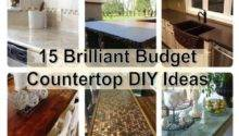 Brilliant Budget Countertop Diy Ideas Find Fun Art